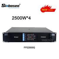 2018 Newest Lline array Fp22000Q High Quality subwoofer Power Amplifier 4650W4 Channels at 4 ohms thumbnail image