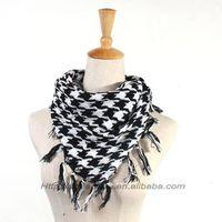 Beautiful warm winter plaid magic foulards fashion scarf