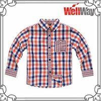 100% cotton flannel shirt for kids thumbnail image