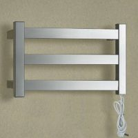 wide wall towel rail stainless steel heater for bathroom