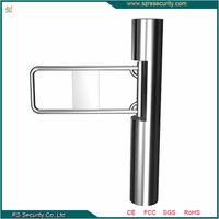 Security Access Control System Cylinder Swing Barrier Made in China