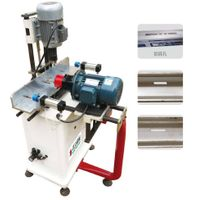 PVC window and door lock-hole drilling machine