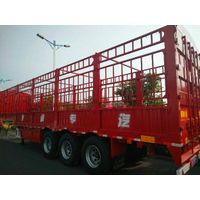 3 axle fence/stake semi trailer for cargo transportaiton