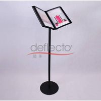 Deflect-o Display Stand For Leaflet/Menu/Literature,150x380x530(mm)