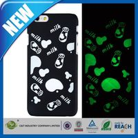 C&T noctilucent pc hard back cover case for iphone6