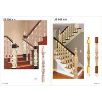 Rose gold Aluminum handrail railing
