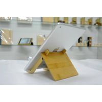 Bamboo stand for Ipad/Iphone