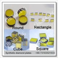 Diamond plate, synthetic diamond plates, monocrytalline diamond plates thumbnail image