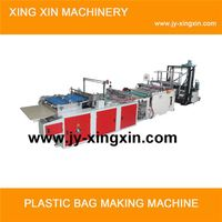 Computer controlled multifunctional hot sealing and cutting bag machine
