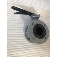 Manual flanged concentric butterfly valve thumbnail image