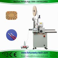 Fully Automatic Wire Cutting Stripping Crimping Machinesample wire. of fully automatic wire cutting