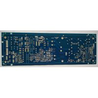 Double side Printed Circuits Board (PCB) with 2 OZ copper and 25um Copper thickness in vias for Powe