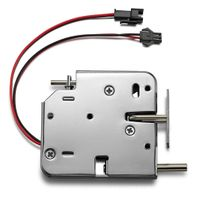 Factory 12v Locks for Electric Cabinet Panels 12v 24v Logistic Parcel Locker Lock Solenoid Lock 12v