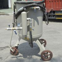 New Condition Portable Sand Blasting , Boat sand blasting equipment with air filter sandblast helme