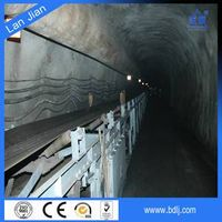 PVC/PVG construction flame retardant belt conveyor