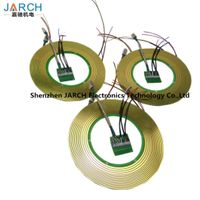 14 Circuits Pancake Slip Ring with Exquisite Design for Medical Equipment PCB Contact