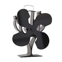 China Manufacture Aluminum Alloy Heat Powered Stove Fan, 4 Blade Eco Fan, Stove Fan VDSF654B