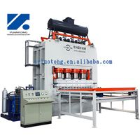 melamine laminated press/short cycle press machine for particle boards