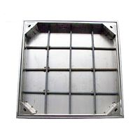 Recessed inspection cover brick tile paver
