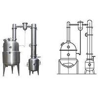 Vacuum pressure reduction concentration tanks