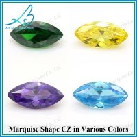 Various color marquise cut cz stone thumbnail image