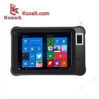 "Rugged Windows Tablet PC Fingerprint UHF RFID Reader 7"" High Brightness 2D Barcode scanner thumbnail image"