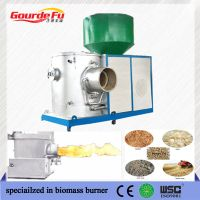 wast consumption biomass pellet boiler burner