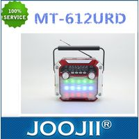 AM/FM/SW 3 BRAND RADIO WITH LED TORCH LIGHT AND DISCO LIGHT thumbnail image