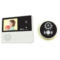 "3.2"" Inch HD Color Display Electronic Viewer Cat Eye Doorbell Camera Peephole"