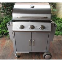 Foldable Side Table Gas Grill Barbecue