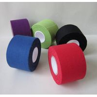white color 100% cotton fabric regular athletic tape, sport tape