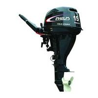 outboard engine F15BMS( Four stroke,Back control. Manual start,15HP,Short shaft)