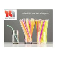 Individually Plastic Wrapped Drinking Straws in Vietnam