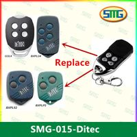 DITEC GOL4C Replacement, Compatible remote control transmitter, clone 433,92MHz thumbnail image