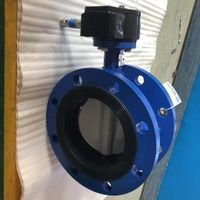 Nylon Disc Ductile Iron Flanged Concentric Butterfly Valve thumbnail image
