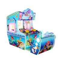 Go Island Water Shooting Games Coin Operated Amusement Game Machine Kids Playing Redemption Games