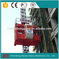 SC200/200 construction elevator materials hoist
