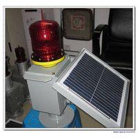 LED solar aviation obstruction light/warning light thumbnail image