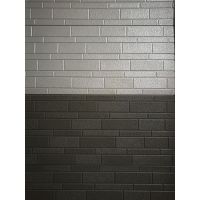 Metallic embossing,brick pattern composite insulation panel