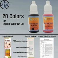 ALS Natural Pigment Permanent makeup pigment & Tattoo ink permanent makeup ink