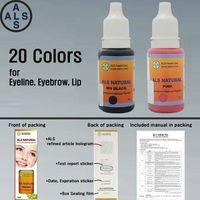 Natural Pigment Permanent makeup pigment & Tattoo ink permanent makeup ink