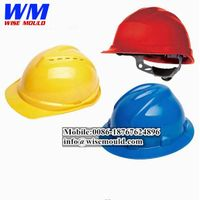 Professional plastic safety helmet mould&industrial helmet mold&safety helmet molds manufacturer thumbnail image
