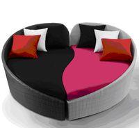 Poly rattan sofa set thumbnail image