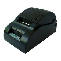 cashino 58mm low-cost Thermal POS Printer in black color thumbnail image