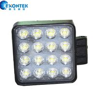 LED work light 48W motorcycle 10-30V IP67 driving light for tractor 4WD ATV agricultural machinery