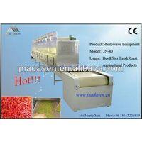 Industrial herbs dryer and sterilizer microwave machine/equipment