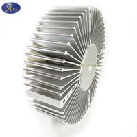 Round heat sink for LED high bay