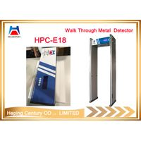 Hot Sale 18 Zones Walk Through Metal Detector for Security Inspection thumbnail image