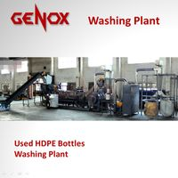 Used HDPE Bottles Washing Plant / PE Plastic Washing Machine/plastic machine