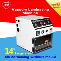 High Effciency 14 inch Vacuum OCA lamination machine automatic work machine for Mobile Phone LCD